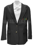 Alpha Pi Omega Blazer Jacket with Greek Letters, Black