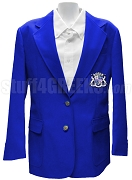 Alpha Pi Zeta Blazer Jacket with Crest, Royal Blue