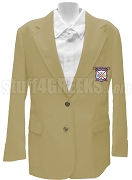 Alpha Sigma Upsilon Ladies' Blazer Jacket with Crest, Camel