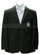 Alpha Tau Mu Men's Blazer Jacket with Crest, Black