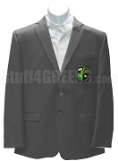 Alpha Upsilon Nu Blazer Jacket with Crest, Gray