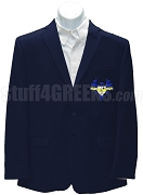 Beta Kappa Gamma Blazer Jacket with Crest, Navy Blue