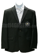 Beta Kappa Psi Blazer Jacket with Crest, Black
