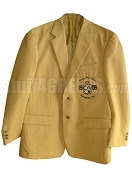 Alpha Phi Alpha Blazer with Embellished Crest, Old Gold