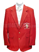 Kappa Alpha Psi Embellished Crest Blazer Jacket, Red