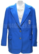 Zeta Phi Beta Crest Blazer Jacket, Royal Blue