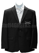 Buffalo Soldier Blazer Jacket with Crest, Black