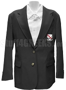Chi Rho Gamma Blazer Jacket with Crest, Black