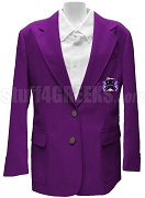 Delta Kappa Delta Blazer Jacket with Crest, Purple