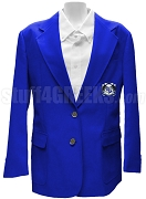 Delta Phi Beta Ladies' Blazer Jacket with Crest, Royal Blue