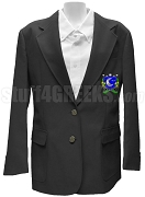 Delta Sigma Chi Blazer Jacket with Crest, Black