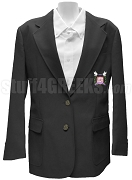 Epsilon Alpha Sigma Blazer Jacket with Crest, Black