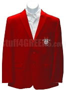 Gamma Delta Iota Blazer Jacket with Crest , Red