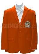 Gamma Pi Sigma Blazer Jacket with Crest, Orange
