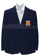 Gamma Psi Gamma Blazer Jacket with Crest, Navy Blue