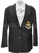 Kappa Alpha Theta Blazer Jacket with Crest, Black