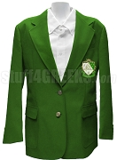 Kappa Delta Blazer Jacket with Crest, Kelly Green