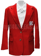Kappa Epsilon Blazer Jacket with Crest, Red