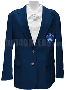 Kappa Kappa Gamma Blazer Jacket with Crest, Navy Blue