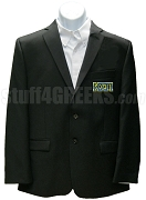 Kappa Sigma Pi Blazer Jacket with Greek Letters, Black