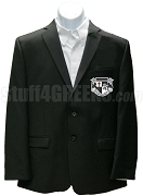 Knights Fraternity, Inc. Blazer Jacket with Crest, Black