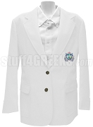 Lambda Delta Psi Ladies' Blazer Jacket with Crest, White