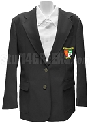 Lambda Sigma Gamma Blazer Jacket with Crest, Black