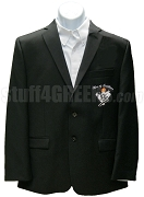 Men of Excellence Blazer Jacket with Crest and Organization Name, Black