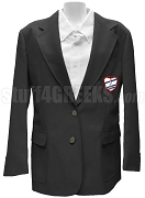 Mu Epsilon Delta Ladies Blazer Jacket with Crest, Black