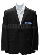Mu Omicron Delta Jacket with Greek Letters, Black