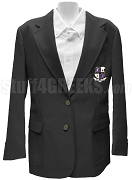 Mu Phi Epsilon Ladies Blazer Jacket with Crest, Black