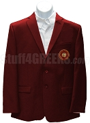 Nu Phi Zeta Blazer Jacket with Emblem, Crimson