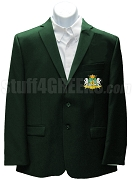 Nu Zeta Epsilon Blazer Jacket with Crest, Augusta Green