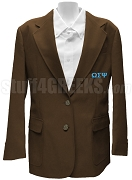 Omega Sigma Psi Brown Blazer - DISCONTINUED