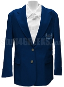 Omicron Delta Kappa Ladies Blazer Jacket with Crest, Navy Blue