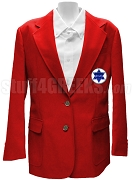 Phi Alpha Theta Ladies Blazer Jacket with Crest, Red
