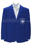 Phi Beta Sigma Blazer with Crest and Organization Name, Royal