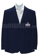 Phi Chi Epsilon Blazer Jacket with Crest, Navy Blue