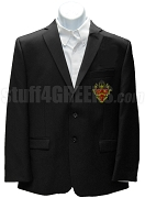 Phi Delta Chi Men's Blazer Jacket with Crest, Black