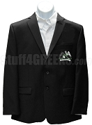 Phi Delta Sigma Blazer Jacket with Crest, Black
