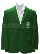 Phi Eta Chi Men's Blazer Jacket with Crest, Kelly Green