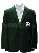 Phi Kappa Chi Blazer Jacket with Crest, Forest Green
