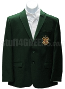 Phi Kappa Psi Blazer Jacket with Crest, Hunter Green