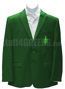 Phi Lambda Sigma Men's Blazer Jacket with Crest, Green