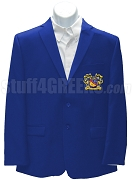 Phi Sigma Alpha Blazer Jacket with Crest, Royal Blue
