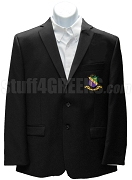 Phi Sigma Theta Men's Blazer Jacket with Crest, Black