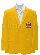 Phi Theta Pi Blazer Jacket with Crest , Gold