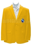 Pi Kappa Chi Blazer Jacket with Crest, Gold