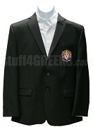 Sigma Alpha Epsilon Blazer Jacket with Crest, Black