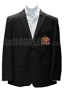 Sigma Phi Delta Blazer Jacket with Crest , Black